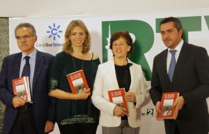 """MARINA BERNAL PRESENTÓ EN RTVA LA SEGUNDA NOVELA DE CARMEN DE LA ROSA """"EL INGLÉS DE SERÓN"""""""