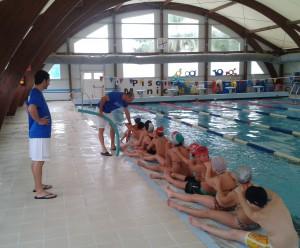 Comienza un programa de natación escolar que se prolongará durante todo el curso