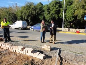 Se levanta un muro en el nuevo colegio Argonautas para que pueda funcionar como centro educativo