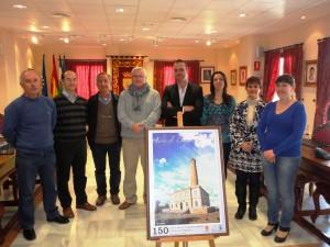 Presentado el cartel anunciador del 150 aniversario de la primera piedra del Faro de Chipiona
