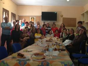 Los mayores celebran un almuerzo convivencia