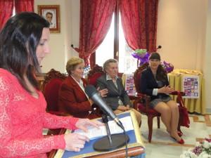 Dolores Cebrián y María Cruces han recibido hoy un homenaje con motivo del Día Internacional de la Mujer