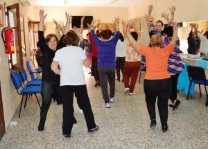 El servicio de la gimnasia del centro de la Tercera Edad  ampliado por la alta demanda existente