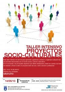 Juventud y Participación convocan un taller intensivo de elaboración de proyectos