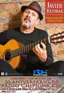 Javier Ruibal ofrecerá un concierto con motivo de los treinta años de Radio Chipiona