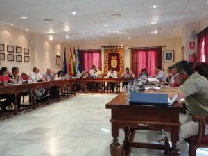 El Pleno de Chipiona se opone a que se alteren los términos municipales en La Ballena antes de la sentencia definitiva