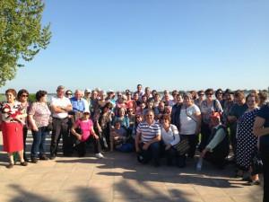 110 mayores de Chipiona viajan a Almonte, el Rocío y Matalascañas