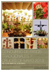 Abierto el plazo de inscripciones para el concurso de  patios, terrazas y cruces de mayo