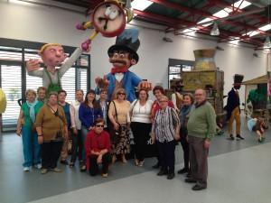 Los mayores del Centro de la Tercera Edad visitan Expo-Cabalgata 2013
