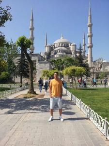 El futbolista del Chipiona Samuel Lorenzo participa en Turquía en un proyecto europeo enfocado al deporte