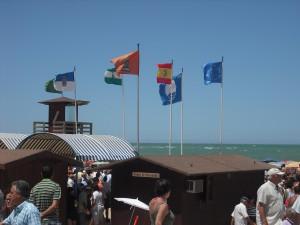 Cruz del Mar-Las Canteras, Camarón y Puerto Chipiona revalidan las banderas azules