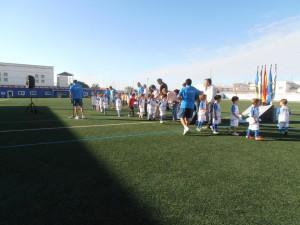 La Escuela de Fútbol clausura una temporada en la que ha alcanzado las 175 inscripciones