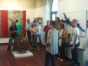 El Castillo acoge una muestra de 21 obras de la colección de arte contemporáneo de la Diputación de Cádiz