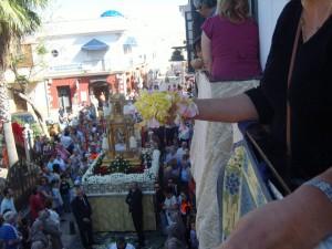 La Delegación de Fiestas invita a los ciudadanos a participar en la fiesta del Corpus Christi engalanando sus fachadas