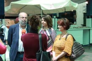 El Viceconsejero de Turismo y Comercio, Antonio Roldán, visita Chipiona junto al grupo municipal de Izquierda Unida.
