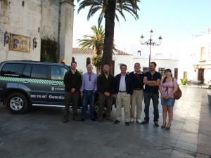 El Ayuntamiento de Chipiona dota con un nuevo vehículo a su Guardería Rural