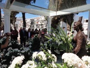 Chipiona rinde homenaje a Rocío Jurado en el séptimo aniversario de su fallecimiento