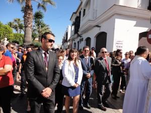 Davinia Valdés agradece la colaboración ciudadana en la celebración del Corpus