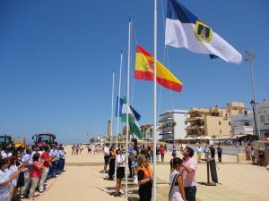 Chipiona incrementa y moderniza este verano el sistema de seguridad en sus playas