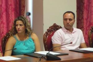 Toman posesión como nuevos concejales socialistas Luz María Caraballo y Lucas Díaz