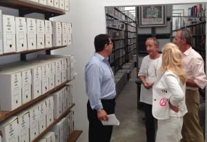 Antonio Peña anuncia la ampliación y mejora del archivo municipal