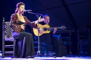 Rotundo éxito de María José Santiago en la Bienal de Flamenco de Málaga