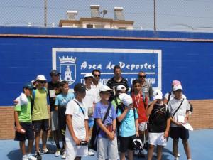 16 participantes en la liguilla de tenis infantil y juvenil