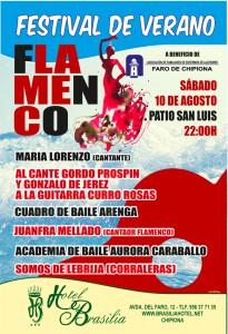 Convocan para este sábado festival flamenco en beneficio enfermos de Alzheimer