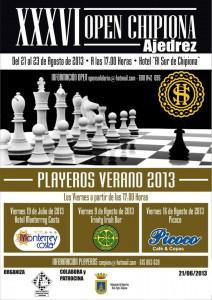 El Open de Ajedrez más antiguo de Andalucía comienza hoy en Chipiona