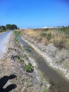 Agricultura prepara arroyos y cunetas para la llegada de la temporada de lluvias