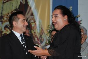 CUMPLEAÑOS DEL PINTOR ANTONIO MONTIEL EN TORREMOLINOS