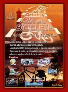 Chipiona tratará de mostrar el 12 de octubre su posición destacada en el uso de la bicicleta