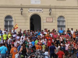 Chipiona se suma masivamente a la octava edición del Día de la Bicicleta