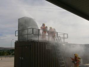 Voluntarios de Protección Civil de Chipiona mejoran su formación en incendios, accidentes de tráfico y comunicación