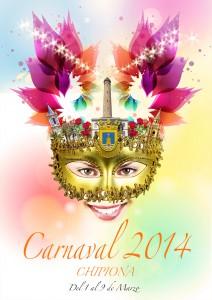 """Elegido el cartel """"Sonrisa de Marzo"""" para anunciar el Carnaval de Chipiona de 2014 y Manuel Rodríguez """"El chillo"""" como carnavalero"""