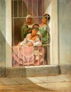 Prostitución española en la isla de Juana.-