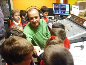 Comienza el programa de visitas de escolares a la Radiotelevisión Municipal