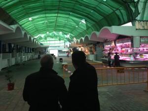 El temporal obliga a reparar de urgencia la cubierta de la Plaza de Abastos de Chipiona