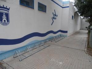 El Ayuntamiento instala 50 aparcamientos de bicicletas en las instalaciones municipales deportivas
