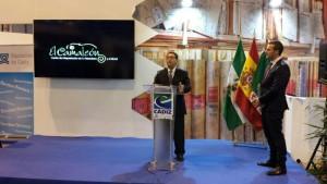 El Centro de Interpretación El Camaleón  presentado en FITUR 2014 como recurso turístico local
