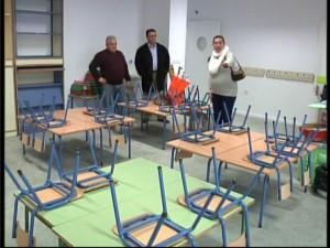 Los alumnos de infantil de Los Argonáutas comienzan el año en el nuevo centro como estaba previsto