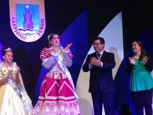 Fabiola Valdés y Alba Solís elegidas Perla y Perla Infantil del Carnaval de Chipiona 2014