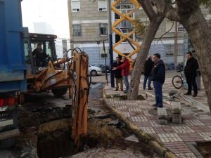 El Ayuntamiento comienza las obras de la primera línea de contenedores soterrados
