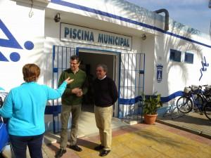El Diputado de Deportes evalúa la dotación del Plan Vida Activa en Chipiona