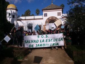 Preocupa el futuro de la Escuela de Jardinería Joaquín Moreno Murube