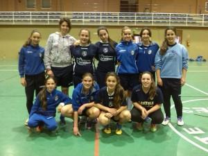 El equipo cadete del Chipiona Fútbol Sala también se alza con el campeonato
