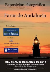 Prevista este viernes la inauguración de la exposición fotografica «Faros de Andalucía»