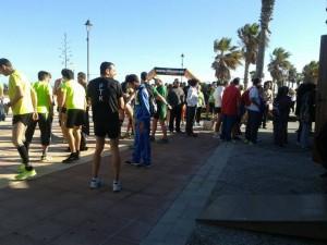 """La Carrera del Alzheimer """"Por nuestros mayores"""" se estrenó ayer como prueba solidaria al Circuito Local de Carrera"""
