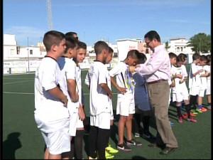 La Escuela Municipal de Fútbol clausura la temporada con más de 150 niños y la educación deportiva como referente