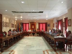 El Pleno acuerda solicitar al Ministerio de Hacienda la aplicación del coeficiente 0,78% a los valores catastrales para 2015